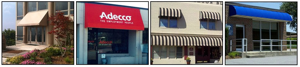 Commercial Awning Fabric Styles